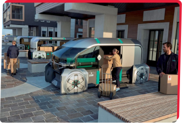 Renault'dan Robot Otomobil ile Kişiye Özel Teslimat Çözümü